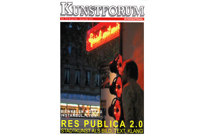 KUNSTFORUM INTERNATIONAL, Bd. 212 November-Dezember 2011